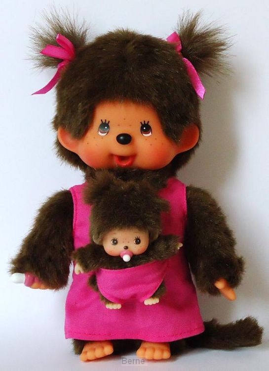 MONCHHICHI*20 cm Mother Care Pink
