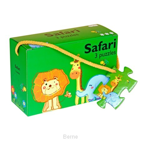 Safari - 3 puzzels