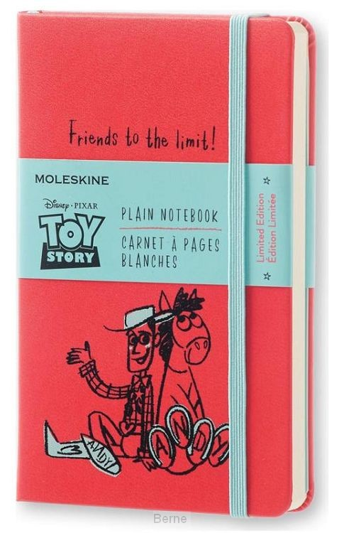 Moleskine LE Notitieboek Toy Story Pocket (9x14 cm) Blanco Geranium Rood