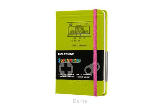 Moleskine LE Notitieboek Super Mario Notebook Pocket (9x14 cm) Gelinieerd Gameboy