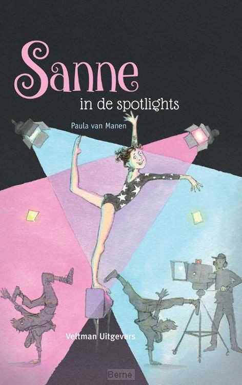 Sanne in de spotlights