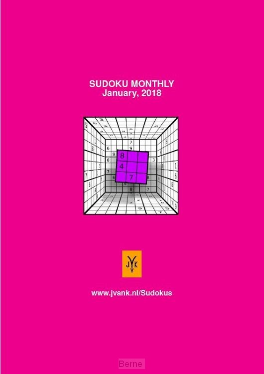 Sudoku monthly January 2018