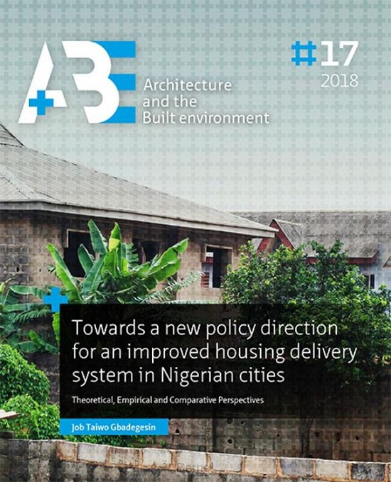 Towards a new policy direction for an improved housing delivery system in Nigerian cities