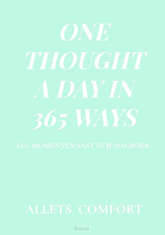 One thought a day in 365 ways